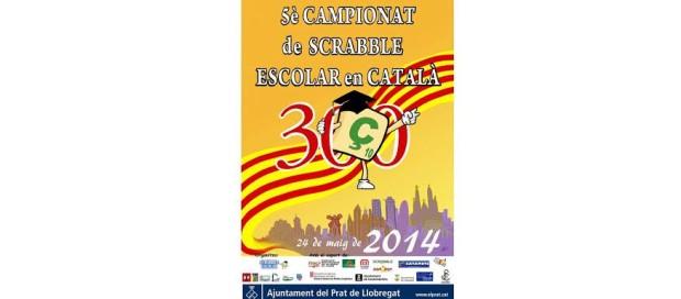 5è Campionat de Scrabble Escolar dels Països Catalans 2014