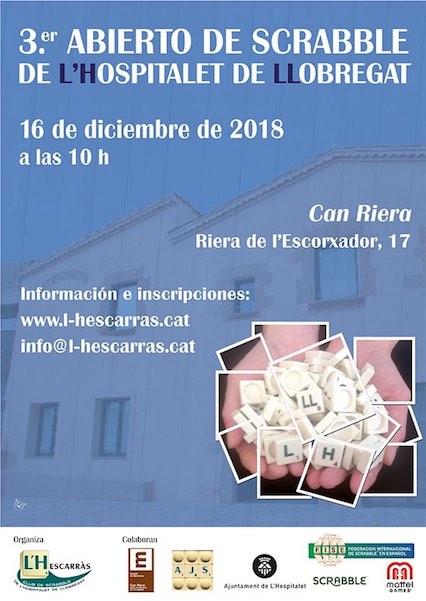 scrabble, español, castellano, AJS, FISE, l'Hescarràs, L'Hospitalet, Llobregat, Hospitalet