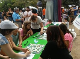 Festa, festa major, Bellvitge, Parc metropolità, 2018, scrabble, scrabble en català, català